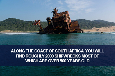 Shipwrecks in South Africa