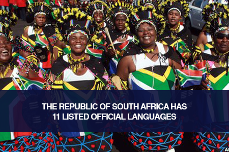 South Africa: The Rainbow Nation with 11 Official Languages