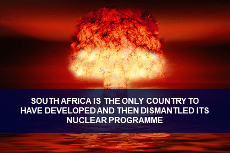 Nuclear weapons in South Africa