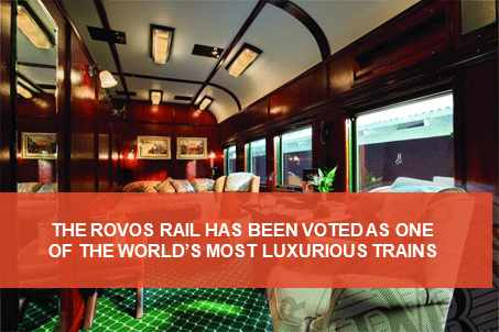 The luxurious Rovos Rail